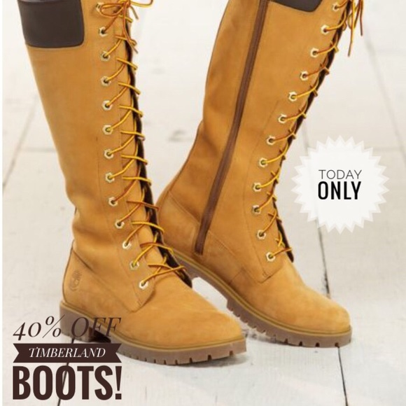 over the knee timberland boots